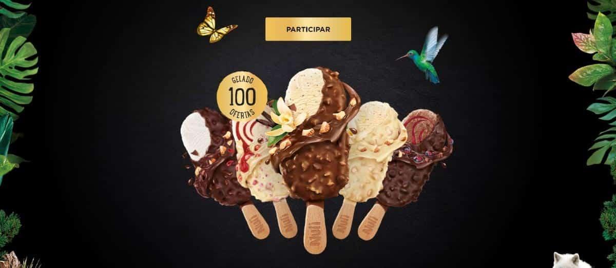gelados nuii da Nestlé