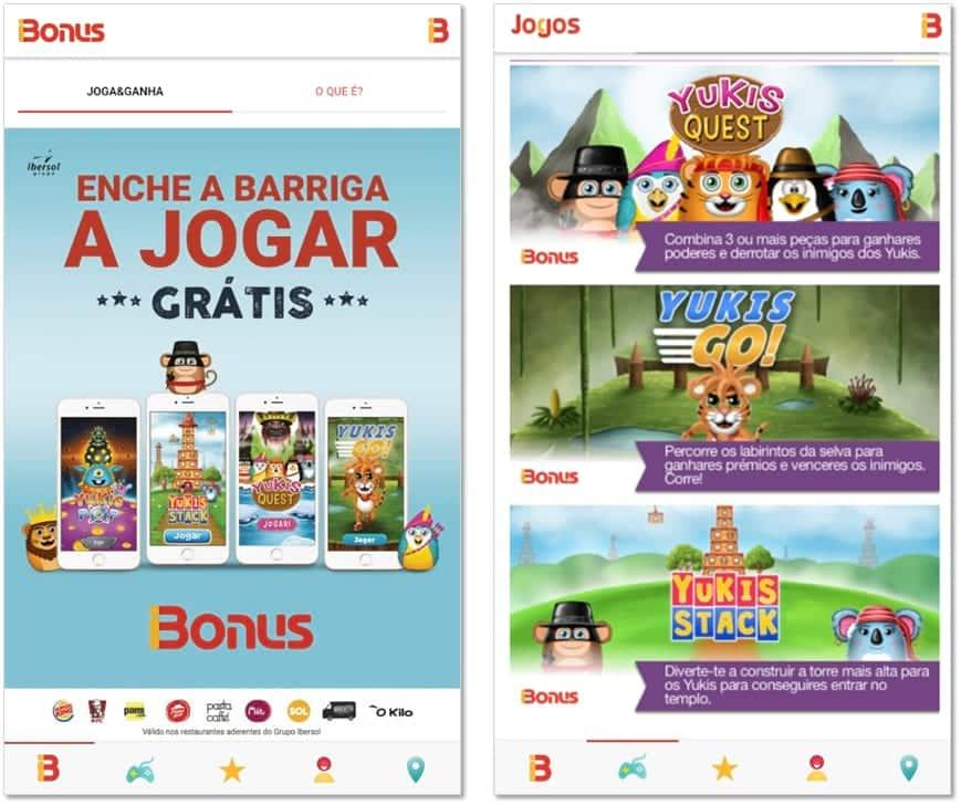 iBonus - Jogos