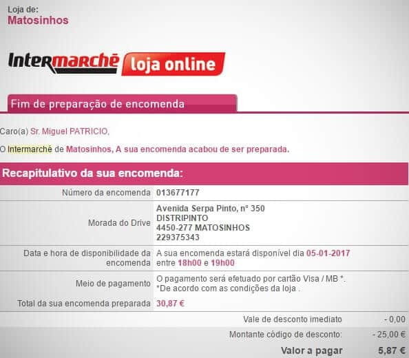 Email do Intermarche