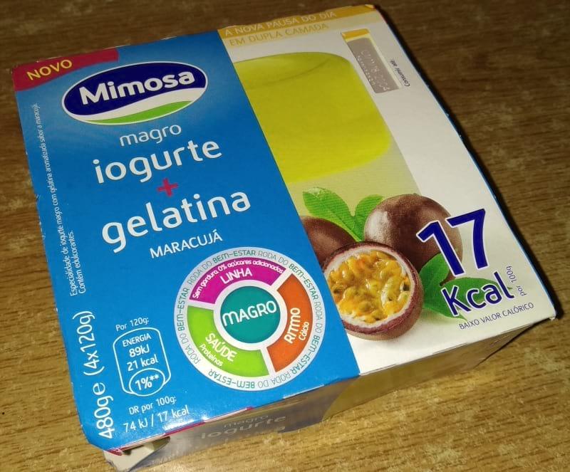 Iogurte+Gelatina Mimosa