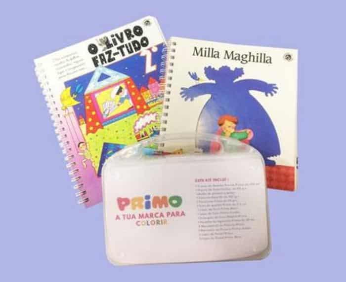 kit presente para crianças