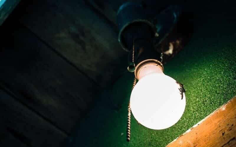 lampada suja