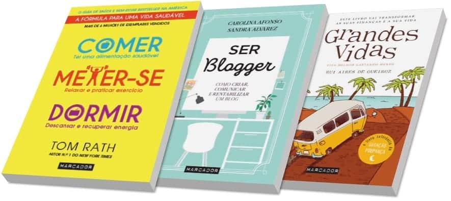 Livros da editora Marcador