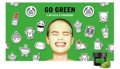 mascara de cha verde Matcha japones