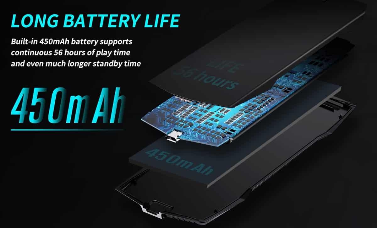 MUJA - Bateria