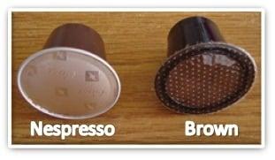 Cápsulas de Café Brown – Compatíveis com Máquinas Nespresso