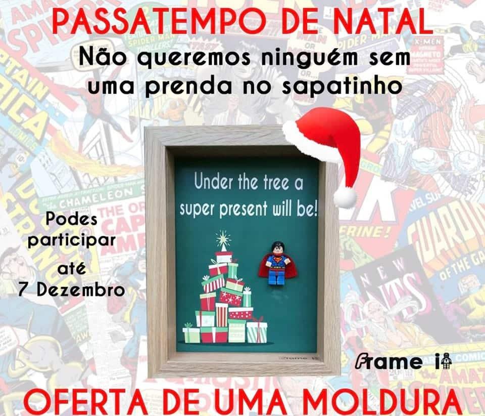 Passatempo - Moldura de Natal
