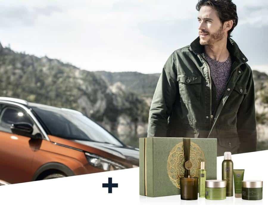 um fim de semana ao volante de um Peugeot e um coffret XL The Ritual of Dao da Rituals Cosmetics