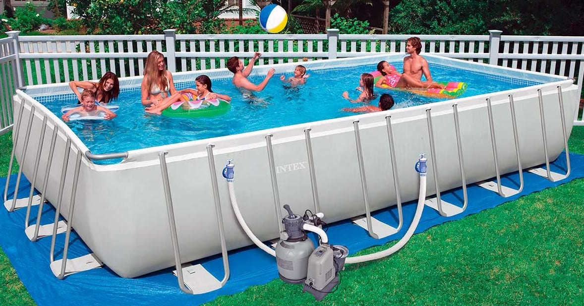 Piscina Intex tubular