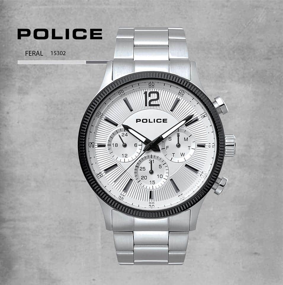 Relógio Police Feral
