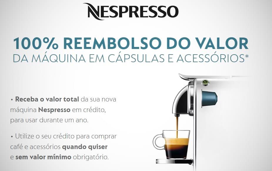 Reembolso Nespresso