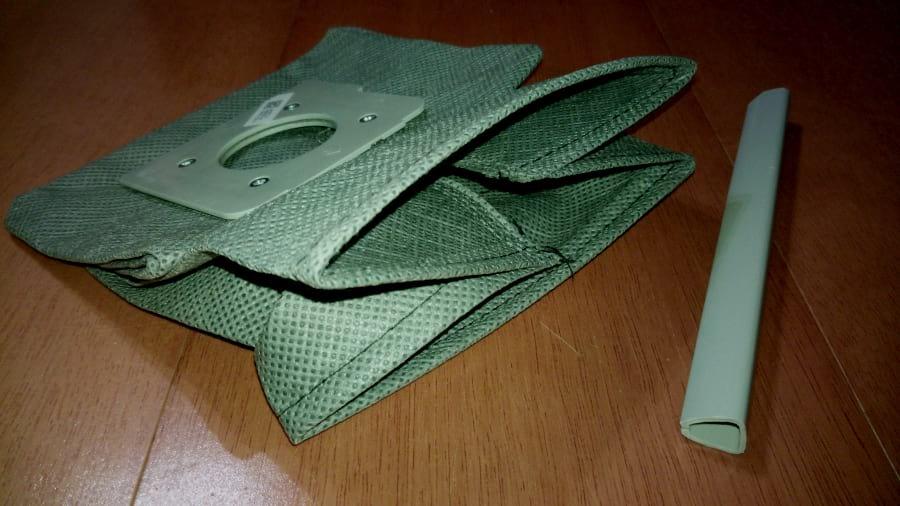 Utilize Sacos de Aspirador Reutilizáveis