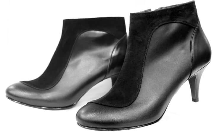 alargar sapatos de tecido
