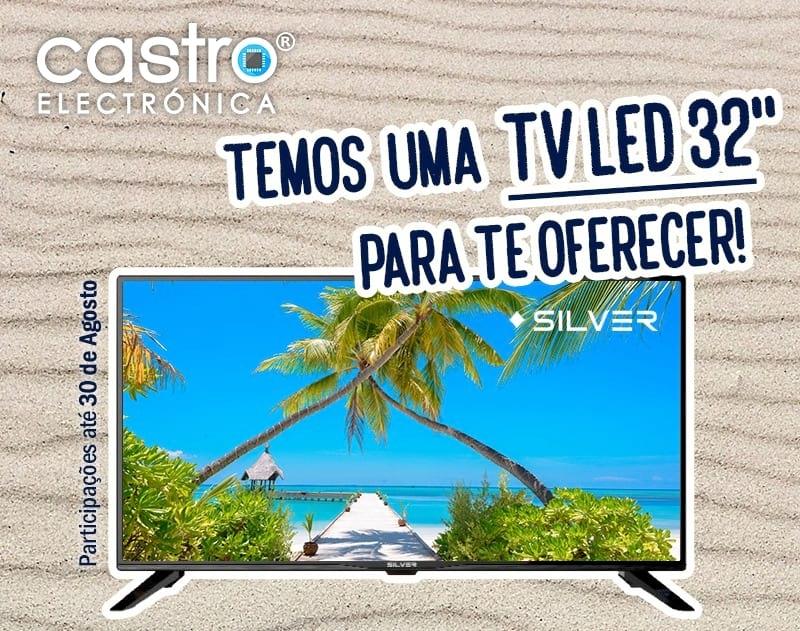 Televisão LED 32 da SILVER
