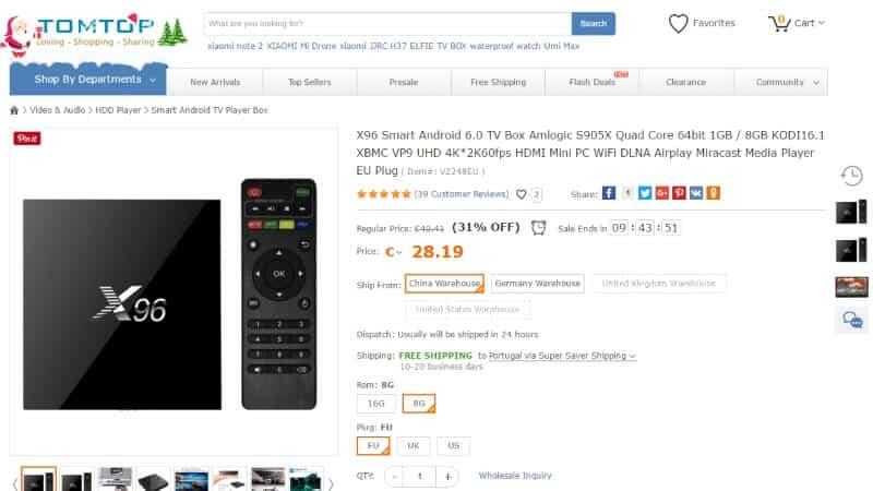 TV Box X96: Transformei a minha TV numa SMART TV por menos de 30€