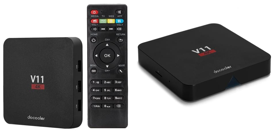TV Box Docooler V11